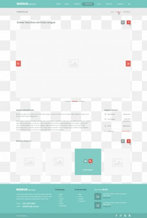 Website Ui With Pictures PNG
