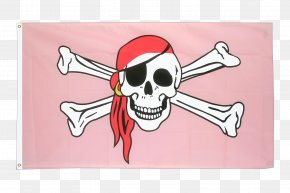 Flag - Jolly Roger Flag Piracy Fahne Republic Of Pirates PNG
