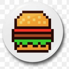 Minecraft Hamburger Pixel Art - Pixel Art PNG