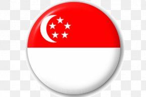 Symbol Red - Singapore Flag Background PNG