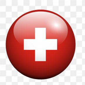 Vector Red Cross Red Circle Texture PNG
