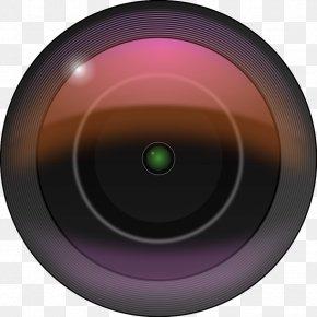 Photo Cameras - Camera Lens Cartoon Clip Art PNG