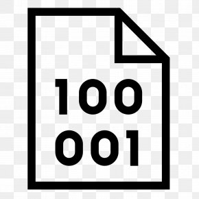 Number Icon - Binary File Binary Number Binary Code Clip Art PNG
