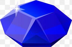Sapphire - Gemstone Steven Universe Blue Diamond PNG