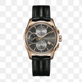 Hamilton Jazz Men's Watches - Hamilton Watch Company Fender Jazzmaster Chronograph Automatic Watch PNG