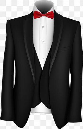 Fine Men's Suits Dress - Tuxedo Suit PNG