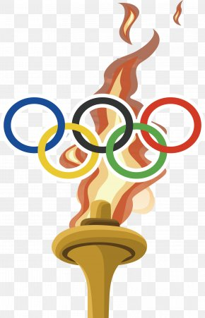 The Olympic Rings - 2016 Summer Olympics 2016 Summer Paralympics Olympic Symbols Olympic Flame PNG