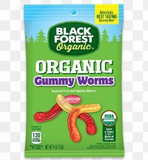 Gummy Worms - Gummy Bear Gummi Candy Black Forest Juice PNG