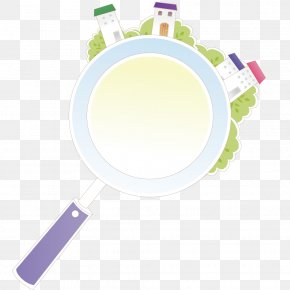 Building On The Magnifying Glass - Magnifying Glass Drawing PNG