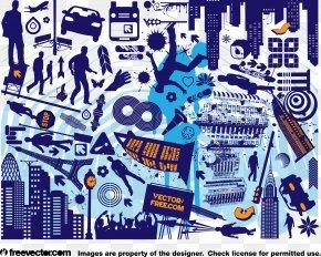 City - Computer Graphics Clip Art PNG