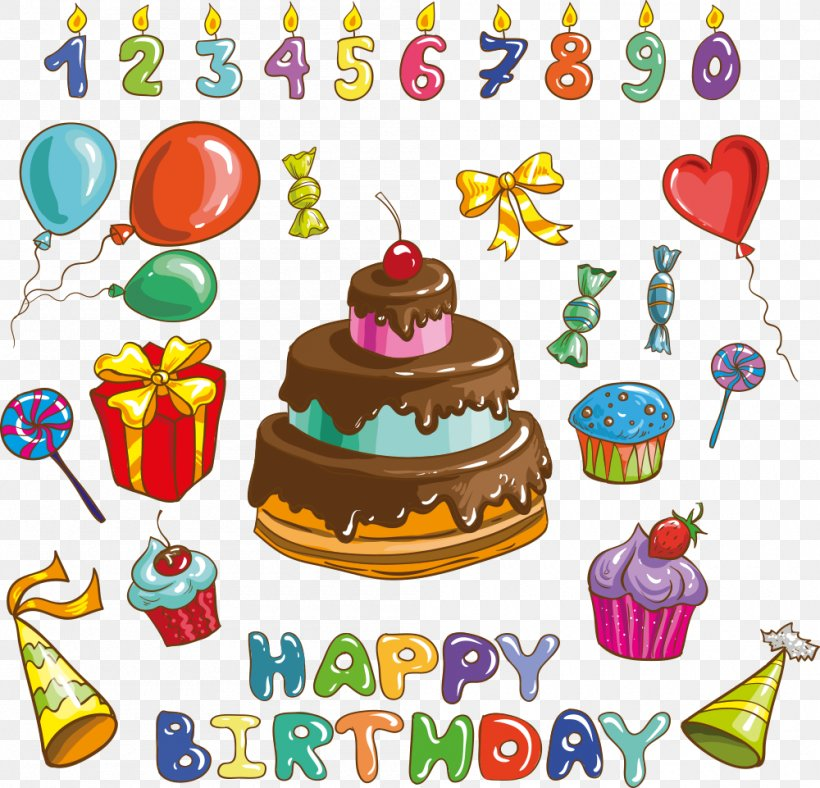 Happy Birthday To You Party Clip Art, PNG, 1000x961px, Birthday, Artwork, Balloon, Banner, Birthday Cake Download Free