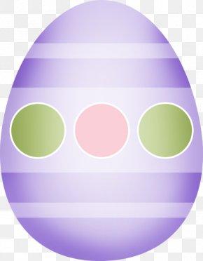 Cartoon Painted Eggs - Easter Egg Scrapbooking Clip Art PNG