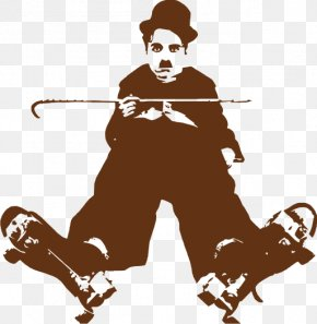 Charlie Chaplin - The Tramp My Autobiography Film Director Silent Film PNG