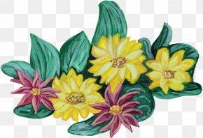 Flower Paint - Watercolour Flowers Cut Flowers Watercolor Painting Floral Design PNG
