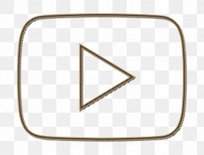 Triangle Youtube Icon - Film Icon Media Icon Multimedia Icon PNG