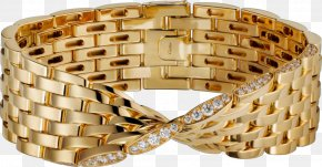 Premier Gold Bracelet - Colored Gold Cartier Bracelet Jewellery PNG