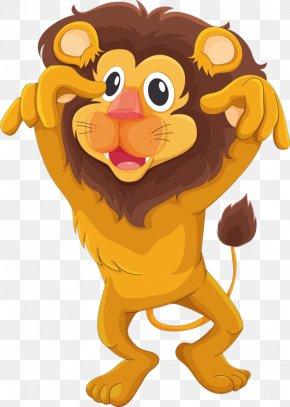 Lion - Lion Cartoon Animation PNG
