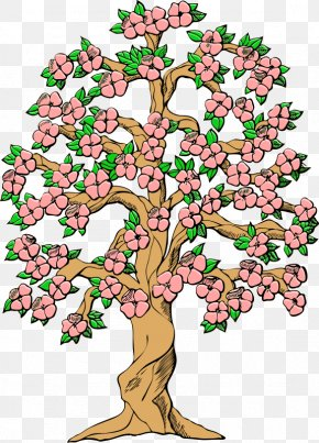 Transparent Spring Cliparts - Tree Cherry Blossom Spring Clip Art PNG