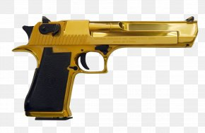 Hand Gun - IMI Desert Eagle Weapon .50 Action Express Firearm Pistol PNG