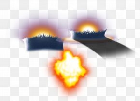 Sparks From Volcanic Eruptions - Volcano Euclidean Vector Fire Icon PNG