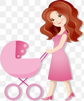 Mother And Baby - Cartoon Mother Royalty-free Clip Art PNG