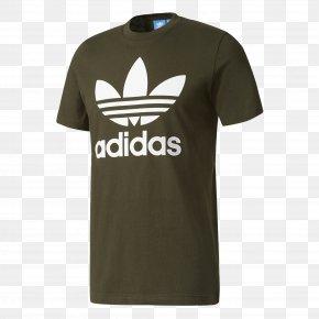 Adidas T Shirt - Hoodie T-shirt Adidas Originals Trefoil PNG