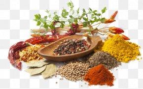 Food Seasoning Spices - Indian Cuisine Spice Herb Seasoning Wallpaper PNG