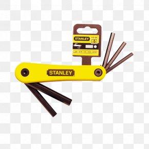 Hardware Tools - Stanley Hand Tools Hex Key Allen Fastener PNG