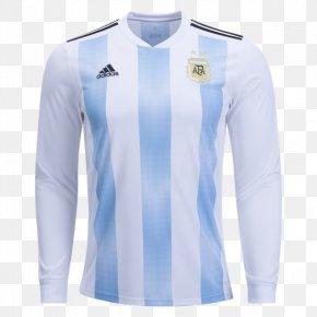 T-shirt - Argentina National Football Team T-shirt Sleeve Jersey Adidas PNG