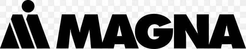 Magna International Business Manufacturing Limited Company, PNG, 2343x476px, Magna International, Automotive Industry, Automotive Supplier, Black And White, Brand Download Free