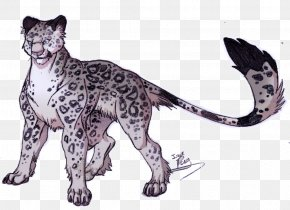 Reinstall - Save The Snow Leopard Drawing Tiger PNG