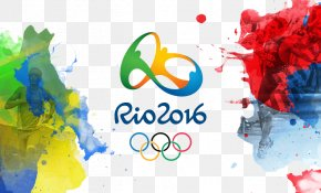 Rio Olympic Watercolor Background - 2016 Summer Olympics Opening Ceremony 2012 Summer Olympics Rio De Janeiro 2014 FIFA World Cup PNG