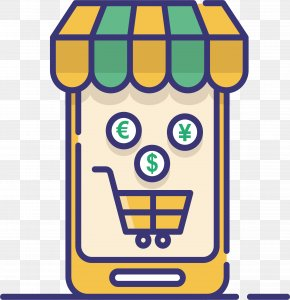 Mobile Phone Shopping Software - Mobile App Mobile Phone Application Software Icon PNG