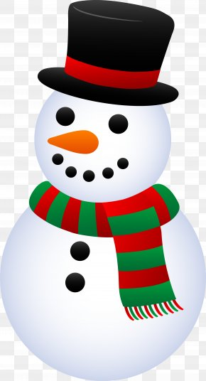 Snowman Cliparts - Snowman Christmas Gift Clip Art PNG