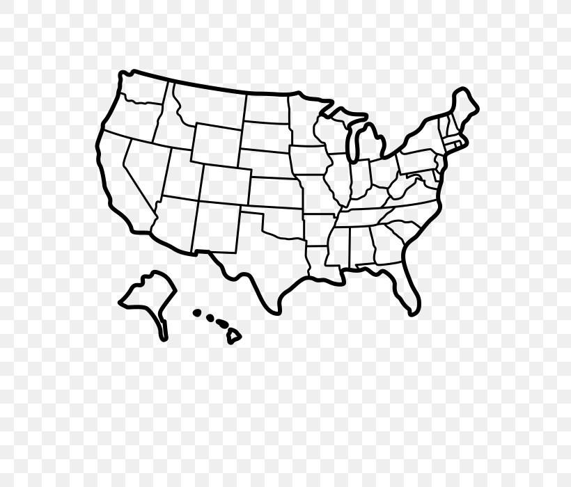 United States World Map Blank Map, PNG, 700x700px, United ...