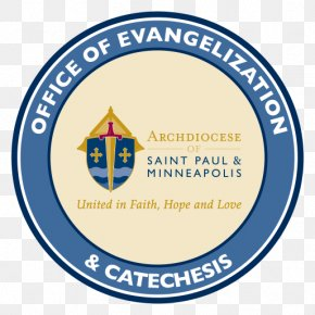 Chancery Logo Organization Brand FontCatholic Catechesis - Archdiocese Of Saint Paul & Minneapolis PNG
