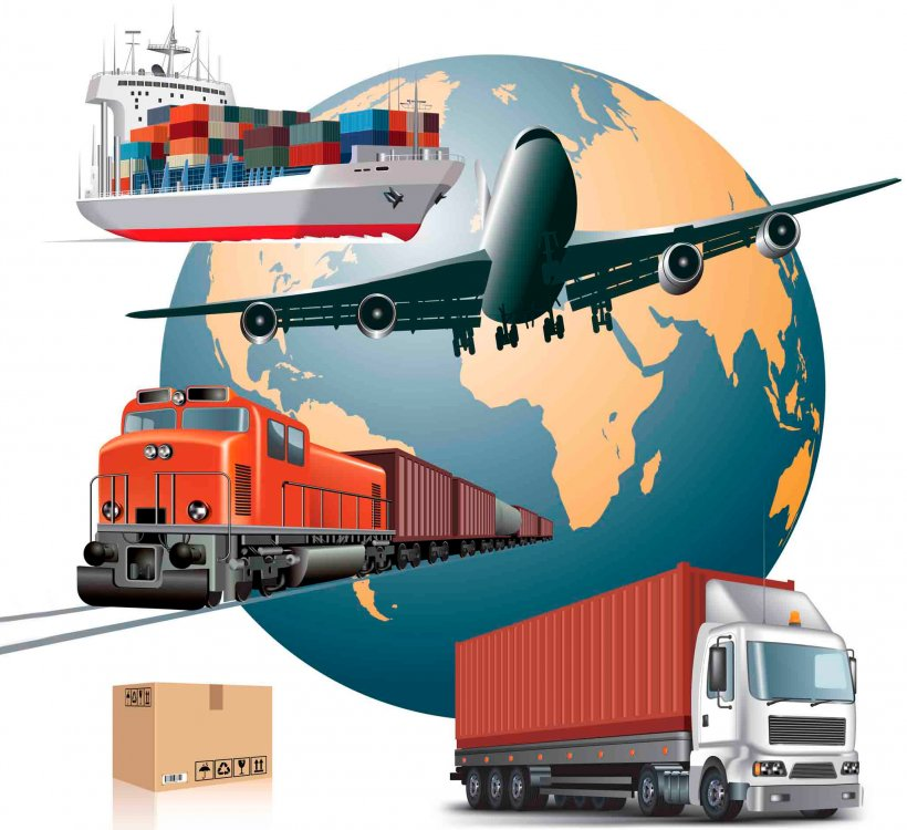 Air Transportation Cargo Freight Transport Logistics, PNG ...