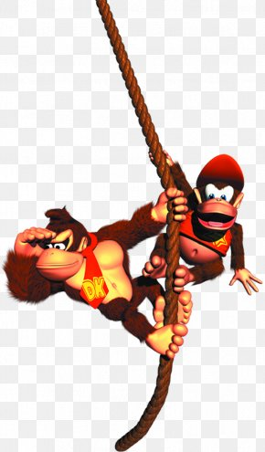 Donkey Kong Clipart - Donkey Kong Country 2: Diddys Kong Quest Donkey Kong Country Returns Donkey Kong Country 3: Dixie Kongs Double Trouble! PNG