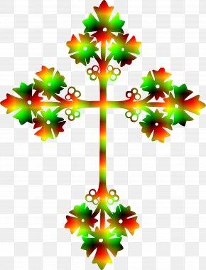 Cross Tree Cliparts - Paper Christian Cross Crucifix Clip Art PNG