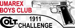 Multi Style Uniforms - Firearm M1911 Pistol Colt's Manufacturing Company Logo PNG