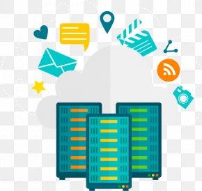 Cloud Server Cliparts - Web Hosting Service WordPress.com Domain Name Dedicated Hosting Service PNG