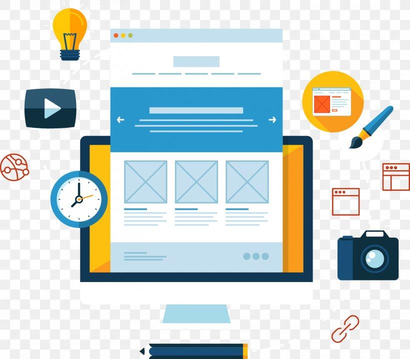 Web Development Responsive Web Design Digital Marketing Search Engine Optimization, PNG, 1408x1236px, Web Development, Area, Brand, Communication, Computer Icon Download Free