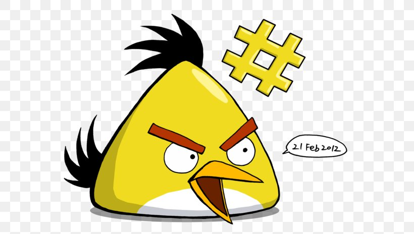 Yellow Angry Birds Clip Art Png 600x464px Yellow Angry