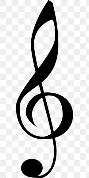 Music Notes Clipart Treble Clef - Clip Art Clef Vector Graphics Treble PNG