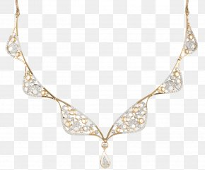 Jewellery - Earring Jewellery Necklace Chain Diamond PNG
