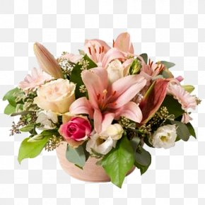 Flower Pot Arrangements - Flower Bouquet Floristry Interflora Garden Roses PNG