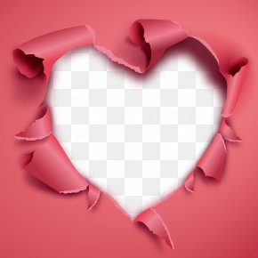 Vector Heart - Heart Valentine's Day Clip Art PNG