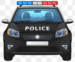 Painted Black Police Car Police - Police Car Police Officer PNG