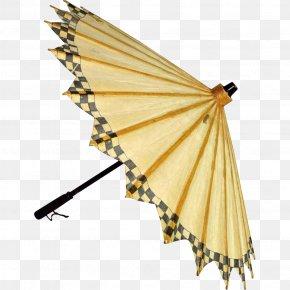 Oiled Paper Umbrella - Umbrella Japan Vintage Clothing Antique Clothing Accessories PNG