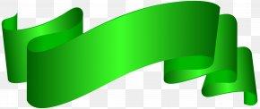 Banner Green Deco Clip Art Image - Clip Art PNG